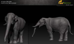 EoFauna - Juvenile mastodon