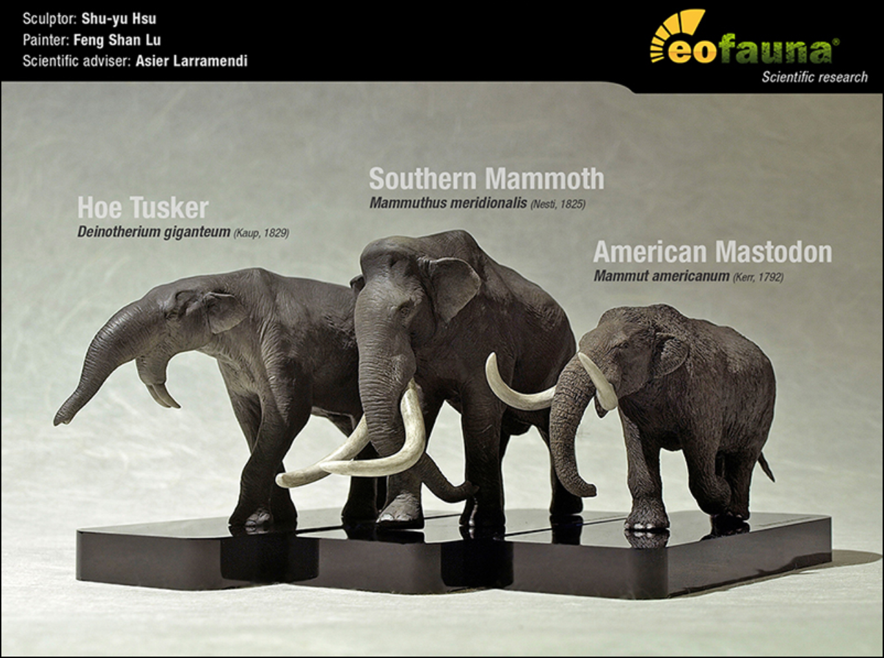Eofauna Science Art Dinosaurs Mammoths Bringing The