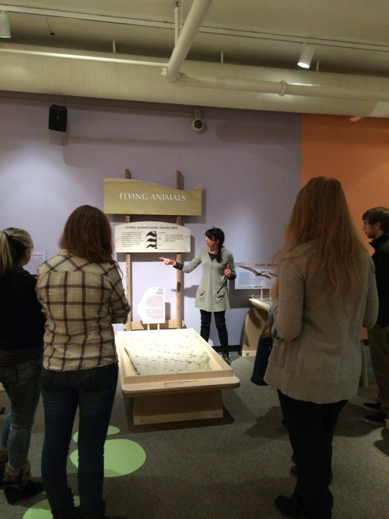 Dr. Karen Chin and docents 2