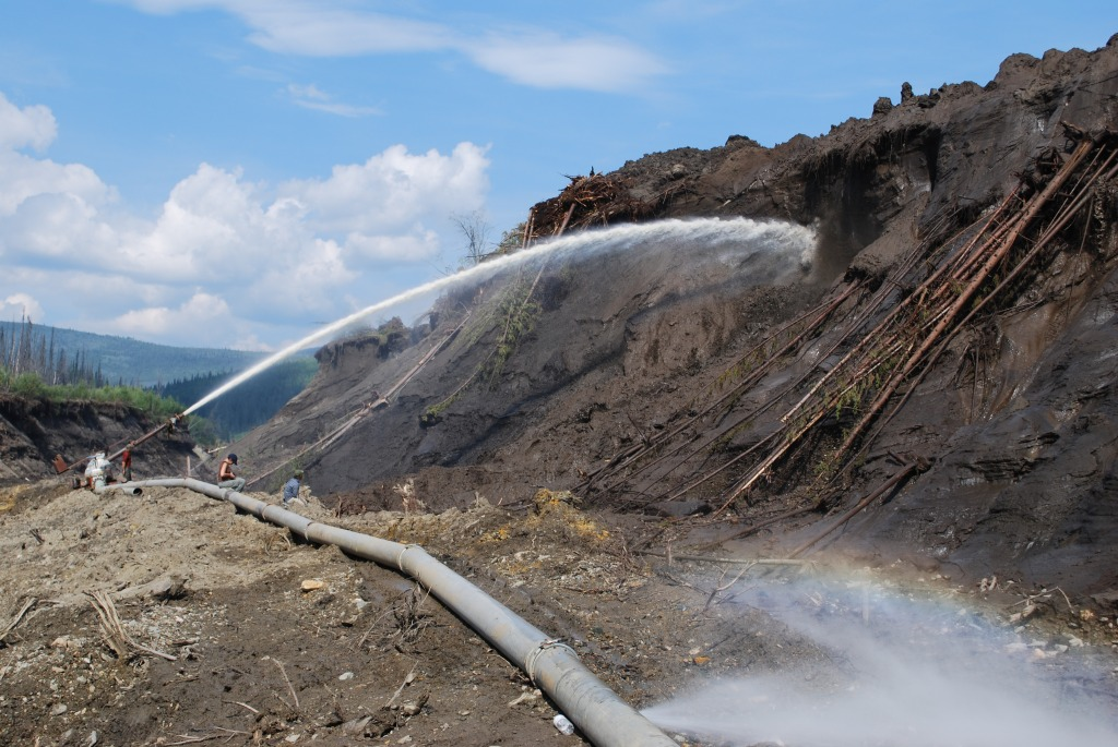 Placer Gold Mining - Monitor