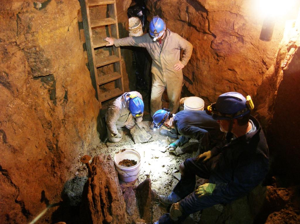 ISM - Cave digging