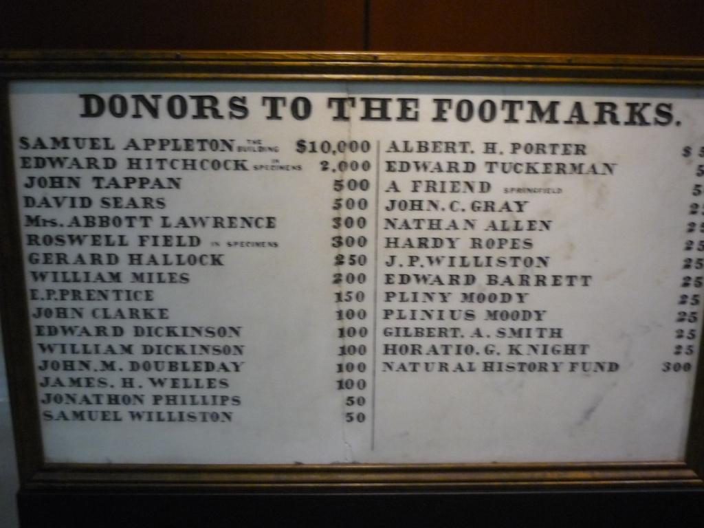 Beneski - Hitchcock - donors sign