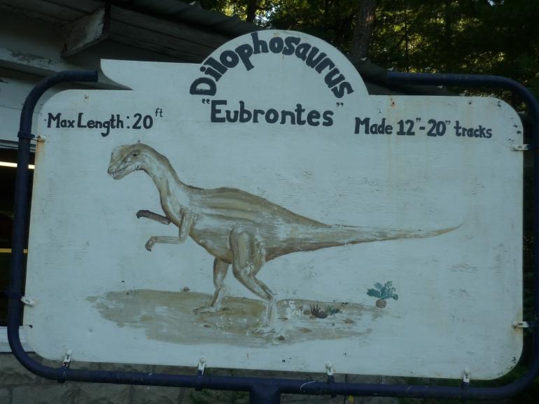 Nash - dilophosaurus sign