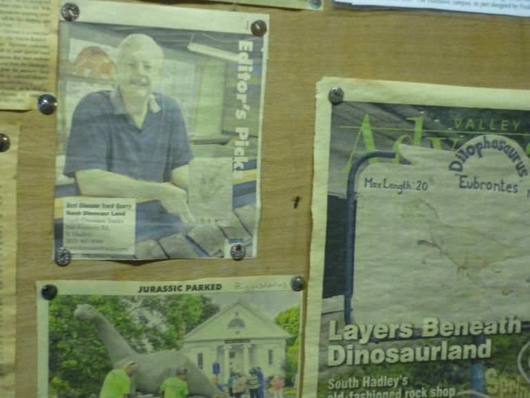 Nash - store newspaper articles on wall2