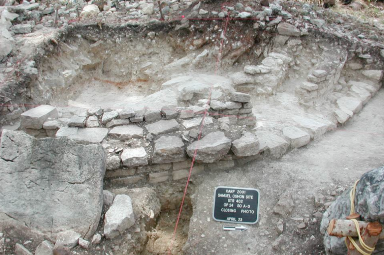 Ben Thomas - excavation 4