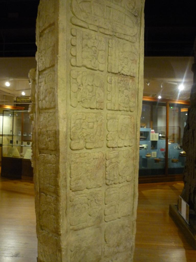Peabody - Mayan stela