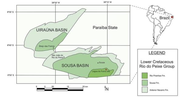Sousatitan map of discovery