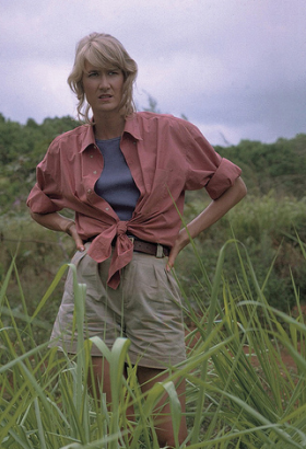 Ellie Sattler (Laura Dern) - Jurassic Park - Universal Studios