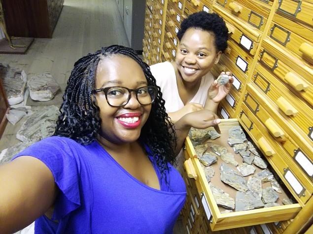 Aviwe Matiwane and colleague