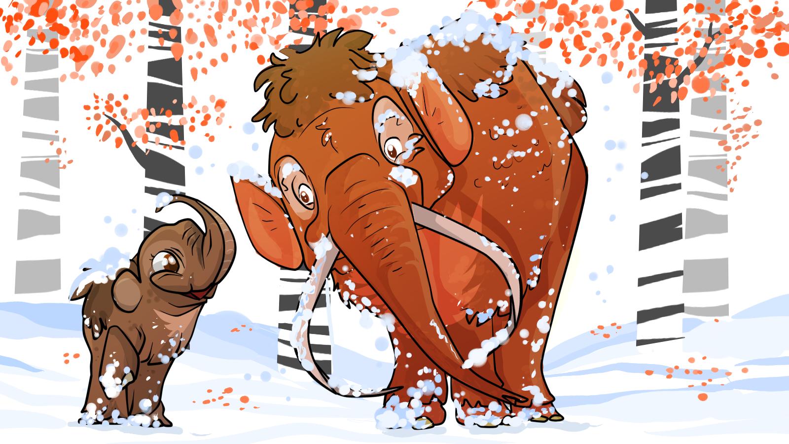 Mammoths by Natalia Jaglielska